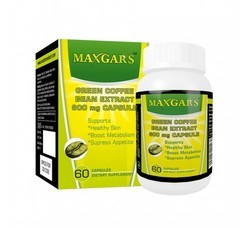 MAXGARS Green Coffee Beans Extract Capsules