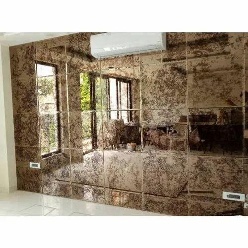 Designer Glass Mirror Wall Mounted Designer Glass Mirror Manufacturer From New Delhi
