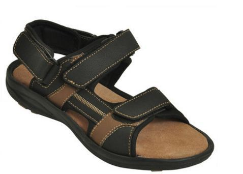 b694dc38e Impakto Black Beige Men Classy Sandal Slipper at Rs 1099