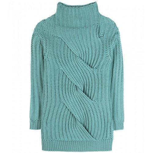 Ladies High Neck Designer Sweater