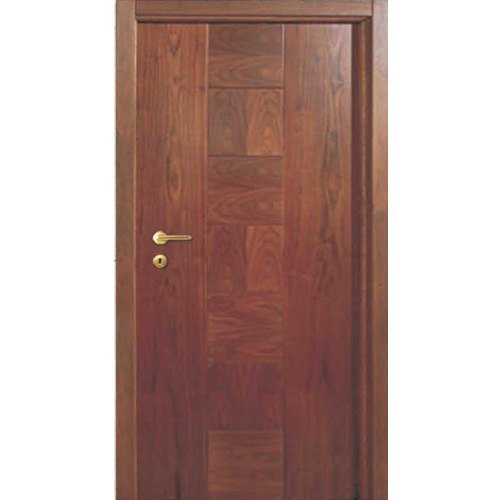 Interior Finished Rectangular Wood Flush Door for Home