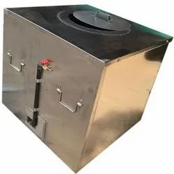 180 L Gas And Charcoal SS Tandoor