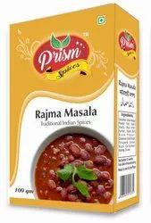 Prism Rajma Masala, Packaging Type: Box, Packaging Size: 50-100g