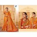 Aayushmati Wedding Wear Silk Saree