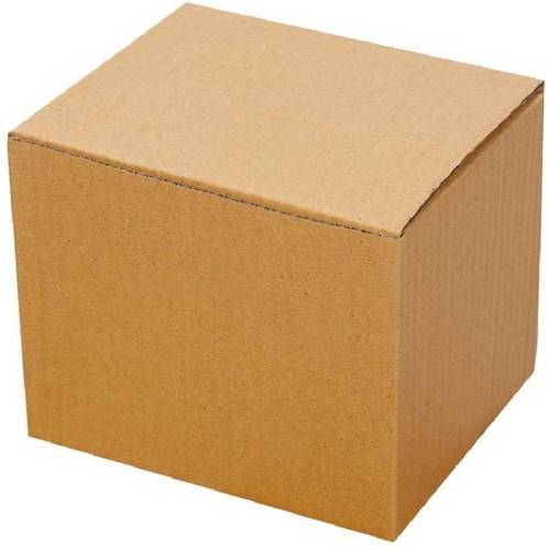 Brown Plain Corrugated Carton Box