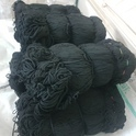 Black Braided Cotton Dori, Shape: Round