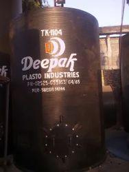 Black Spiral HDPE Storage Tank
