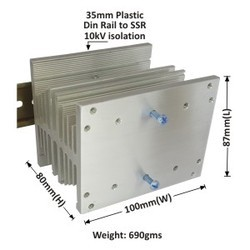 Uni Heat Sink A-100 Din Rail