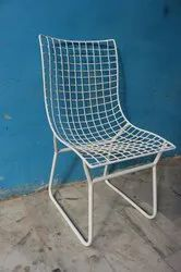 Iron White Metal Mesh Modern Outdoor,Patio Chair, For Outdoor Furniture
