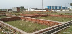Concrete Frame Structures Residential Plots In Dadri