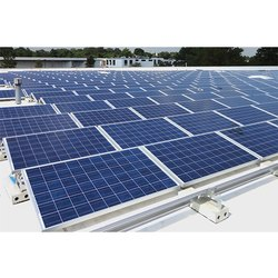 Rooftop Industrial Solar Power Plant