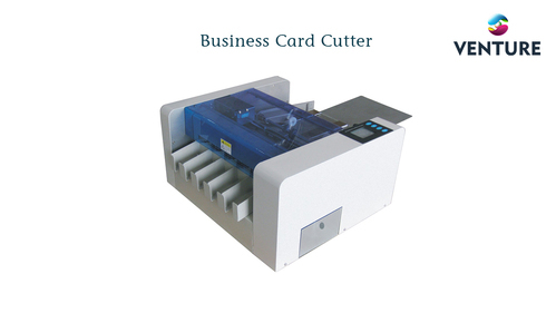 Business card cutter card making machines venture inovations business card cutter card making machines venture inovations villupuram id 15599761197 reheart Choice Image