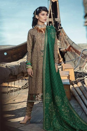ee3558373f Winter Linen Party Wear Pakistani Suits