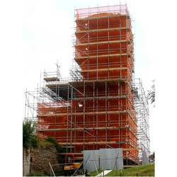 Iron And Steel Scaffolding Rental Service, Application/usage: Industrial