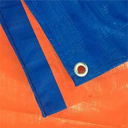 Blue Polyethylene (HDPE) Construction Tarpaulin