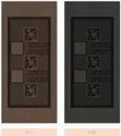 Multicolor Texture Laminate Doors, Size: 7.5 X 3.5 Feet, Thickness: 30mm To 35 Mm