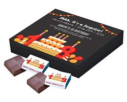 Chocolate Invitation Baskets