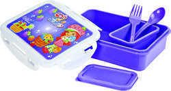 540 ml Plastic Locked Lunch Box