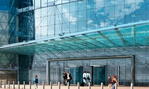Transparent Glass Canopy Systems