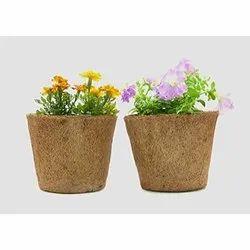 Coir Garden 9 Inch Round Coir Pot