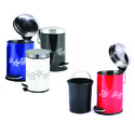 Stainless Steel Color Coded Dust Bin