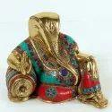 Capstona SW Brass Modern Ganesha Idol