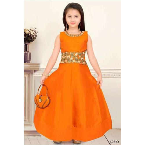10854b4e2 Wedding Wear Kids Fancy Gown, Rs 1695 /piece, Savvy Fashion | ID ...