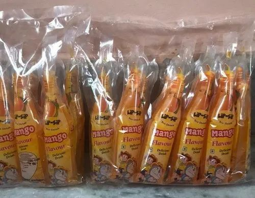 Plastic Mango Fruit Juice, Packaging Type: Packet, 1 Pack Contains: 10 Pieces