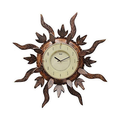 Brown Ajanta Decorative Wall Clock
