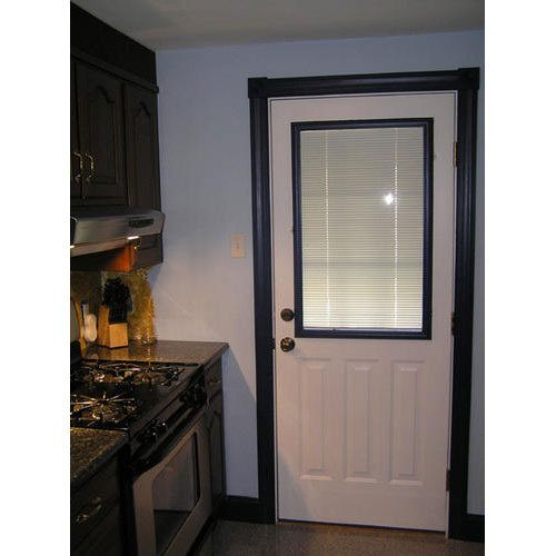 Lovely Wooden Kitchen Door