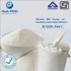 ISI Mark Certification for Skimmed Milk Powder