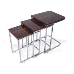 check out c208c cd5c3 Wooden C Shaped Nesting Table