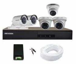 Hikvision 2mp Cctv Camera For Home And Office, Model Name/Number: Indoor And Outdoor