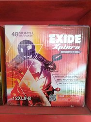 Exide Xplore Motorcycle Battery