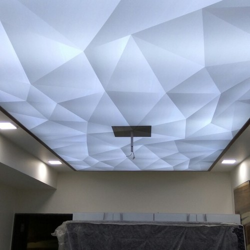 Pvc Stretch Fabric Ceiling Rs 200 Square Feet Mystic
