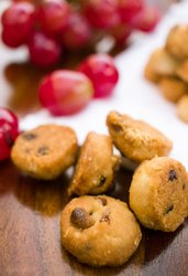 Oats atta Cranberry cookies