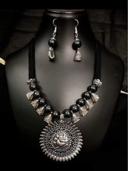 Metal Unique Oxidized Jewellery