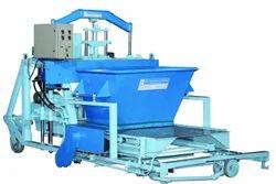 Semi Automatic Laying Type Concrete Block Making Machines
