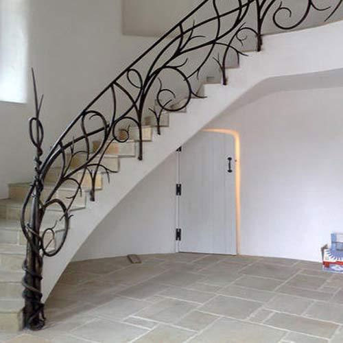 designer stair railing