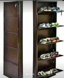 Wall Mounted Shoe Rack Powder Coated