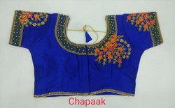 Chapaak Embroidery Designer Blouse