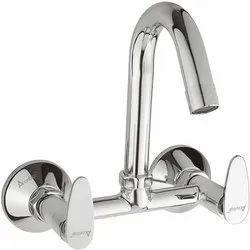 Brass Sink Mixer Chorme Plated