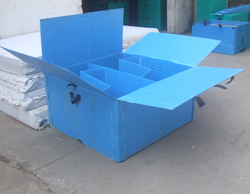 Polypropylene Boxes, Usage: Shipping