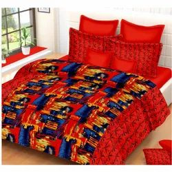 Red Double Bed Sheet