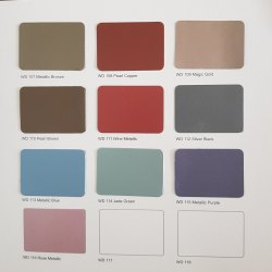 Metallic colours acp sheets