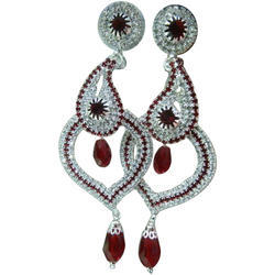 Diamond Imitation Earring