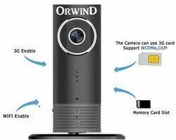 或风塑料4G GSM安全远程无线摄像头,20至25米