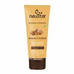 Cream Neustar Walnut Scrub, Packaging Size: 100 Gm