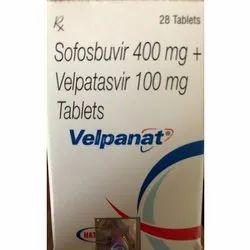 Sofosbuvir 400mg Plus Velpatasvir 100mg Tablets