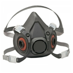 Respirator Double Filter Half Mask